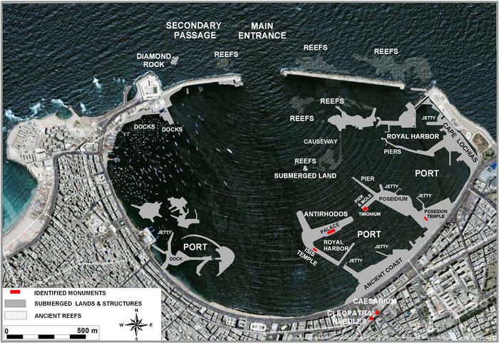 Franck Goddio: Projects: Sunken civilizations: Alexandria on davis islands map, prince islands map, king islands map, hall islands map, berry islands map,