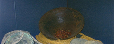 Copper gongs from Junk Royal Captain (end 15th century) and a Chinese Iron Wok found on Junk Lean Shoal (end 15th century)