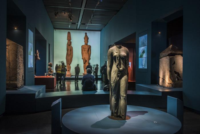 Franck Goddio: Events: Temporary exhibitions: Osiris ...