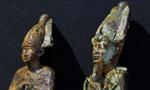 Bronze statuettes of Osiris